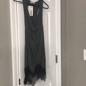 Dresses & Skirts - Gray lace boutique dress
